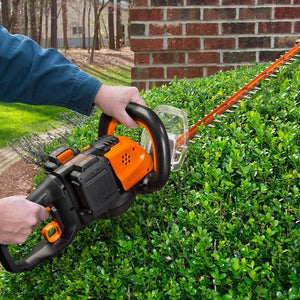 Worx WG284 40 Volt 24 Inch Power Share Dual Action Cordless Hedge Trimmer Kit