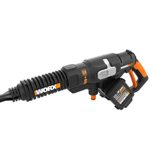 Worx WG644 40 Volt 450 Psi Multi Nozzle Hydroshot Portable Power Cleaner Kit