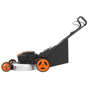 Worx WG751 40V 19 Inch Power Share Cordless Discharge Mulching Lawn Mower Kit