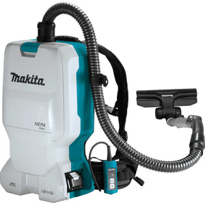 Makita XCV17PG 18V X2 36V LXT 1.6 Gallon Cordless Backpack Dry Vacuum Kit
