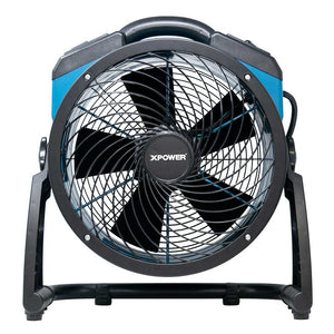 "XPower FC-250AD 13"" Brushless Air Circulator Utility Blower Fan w/ Power Outlets"