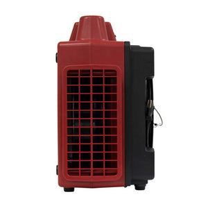 XPOWER X-2480A-Red 3 Stage Filtration HEPA Purifier Air System Cleaner w/ Outlet
