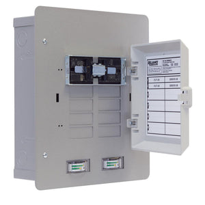 Reliance XRH0303C 30 Amp 6/12 Circuit Watt Meter Panel/Link Transfer Panel