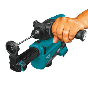 Makita XRH12TW 18 Volt 11/16 Inch SDS-Plus Brushless AVT Rotary Hammer Kit