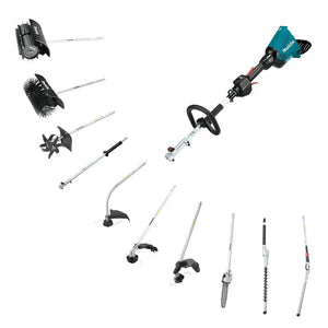 Makita XUX01M5PT 36-Volt 5.0Ah Cordless Couple Shaft Power Head Attachment Kit