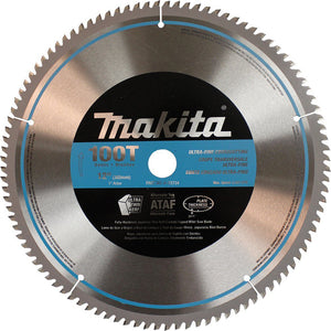 Makita A-93734 12-Inch 100 Tooth 600 Grit Micro Polished Mitersaw Blade