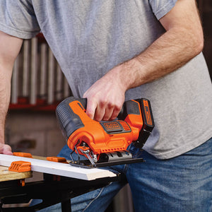 Black and Decker BDCJS20C 20-Volt MAX Cordless Variable Speed Jig Saw Kit