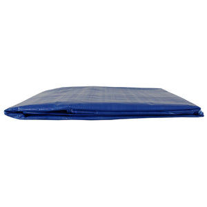 Blue 10x10 Heavy Duty UV Protected Treated Canopy Sun Shade Boat Cover Tarp