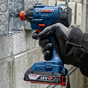 Bosch GDX18V-1600N 18-Volt 1/4 and 1/2-Inch Socket Impact Driver - Bare Tool