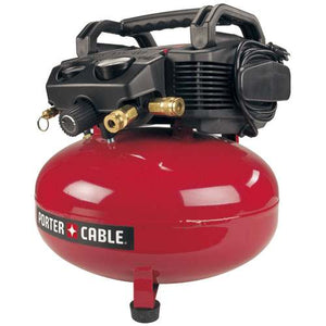 Porter-Cable C2002-WK 150psi 6-Gallon 120Volt Oil-Free Pancake Compressor Kit