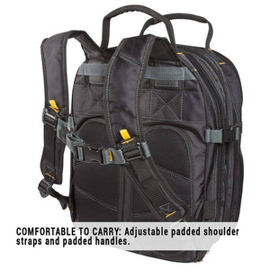 Custom Leather Craft 1132 75 Pocket Maintenance Tool Work Pack Backpack
