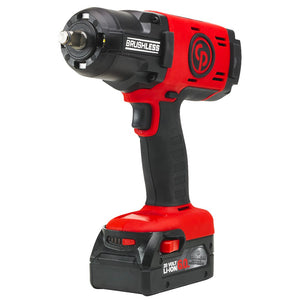 Chicago Pneumatic CP8849K-4AH 20-Volt 1/2-Inch 4.0-Amp Cordless Impact Wrench