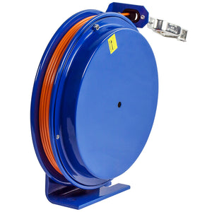 Coxreels SD-35 35-Foot Spring Rewind Static Discharge Reel w/ Galvanized Cable
