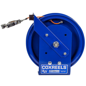 Coxreels SD-50 50-Foot Spring Static Discharge Rewind Reel w/ Galvanized Cable