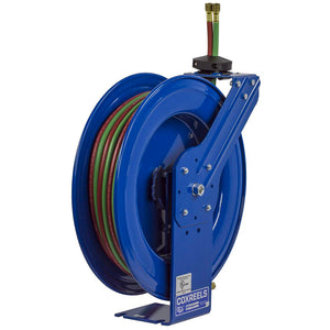 Coxreels SHW-N-1100 1/4-Inch x 100-Foot Oxy-Acetylene Dual Hose Spring Hose Reel