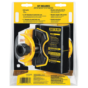DeWALT D180004 Bi-Metal Door Lock Installation Kit
