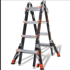 Little Giant 15147-001 Dark Horse Fiberglass Ladder M17 Type IA 300 lb. Capacity