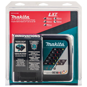 Makita DC18RC 18-Volt Lithium-Ion Compact and LXT Rapid Optimum Charger