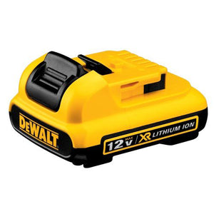 DeWALT DCB127 XR 12V MAX* 2.0Ah Lithium Ion Slide Style Power Tool Battery