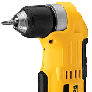 DeWALT DCD740C1 20V MAX Lithium Ion Cordless Right Angle Drill Driver Tool Kit