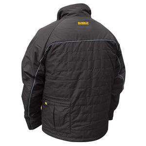 DeWALT DCHJ075D1-3X 20-Volt Heated Quilted Soft Shell Jacket Kit, Black - 3XL