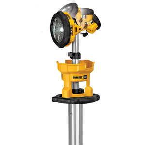 DeWALT DCL079B 20V MAX Heavy Duty Cordless LED Tripod Light - Bare Tool
