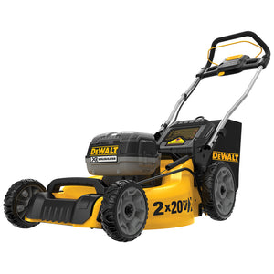 DeWALT DCMW220P2 20V 20-Inch 5.0Ah 3-in-1 Cordless Metal Deck Lawn Mower