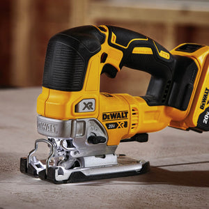DeWALT DCS334P1 20-Volt 5.0Ah 4-Position Orbital Action Brushless Jig Saw Kit