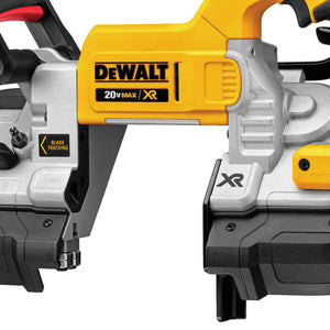 DeWALT DCS376B 20-Volt 5-Inch x 4-3/4-Inch Dual Switch Band Saw - Bare Tool