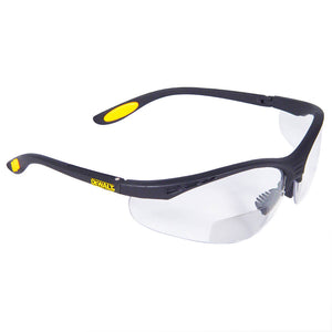 DeWALT DPG59-110 REINFORCER Rx - High Performance Protective Glasses with Magnification Lens. (Clear 1.0)