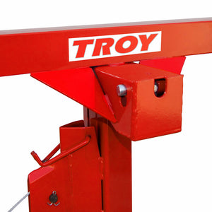 Troy DPH11 11' Drywall Rolling Lifter Panel Hoist Jack Lockable Tool - DPH11