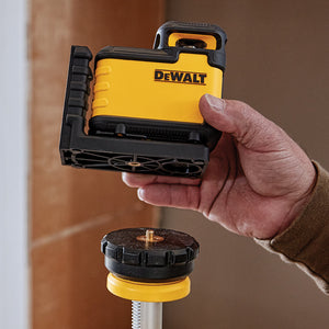 DeWALT DW03601 360-Degree Locking Penddulum Red Beam Cross Line Laser