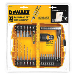 DeWALT DW2522 32 Pc. Rapid Load Set