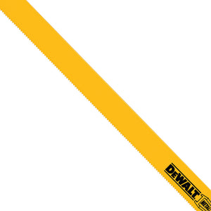 "DeWALT 12"" 14 TPI Straight Back Bi-Metal Reciprocating Blade (5 pack) - DW4838"