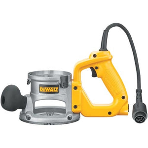 DeWALT DW618B3 2.25HP D-Handle Plunge Fixed Base Router Tool Kit - DW618