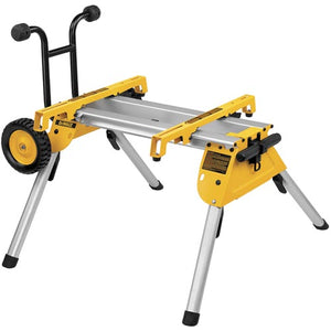 DeWALT DW7440RS Heavy Duty Rolling Job Site Table Saw Portable Stand