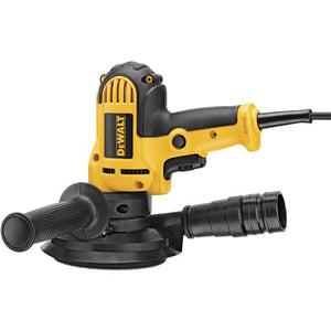 DEWALT 5-in Variable Speed Disc Sander with Dust Shroud DWE6401DS