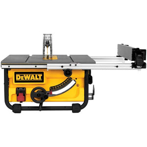 DeWALT DWE7480 10-Inch Compact Job Site Table Saw with Site-Pro Guarding System