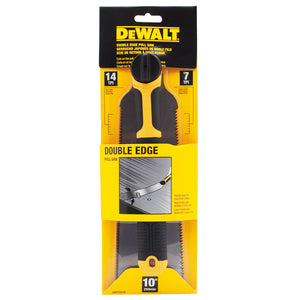 DeWALT DWHT20216 Single Edge Pull Saw with 14/7 Find/Course TPI