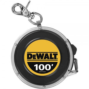 DeWALT DWHT34201 100' Closed Case Retractable Measuring Measure Tape