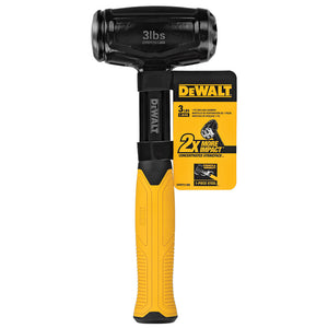 DeWALT DWHT51388 3-Pound 1-Piece Ergonomic Steel Drilling Hammer