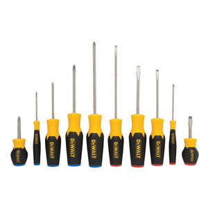 DeWALT DWHT62513 10-Piece Magnetic Tip Quad-Lobe Screwdriver Set