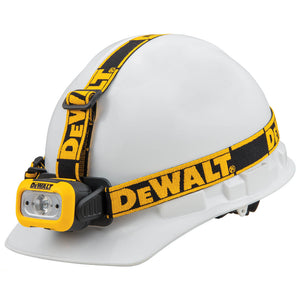 DeWALT DWHT81424 200-Lumen Durable Anti-Slip LED JobSite Headlamp