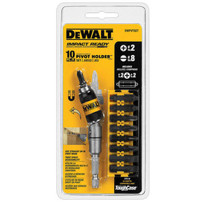 DeWALT DWPVTSET Pivot Holder Set w/bit bar