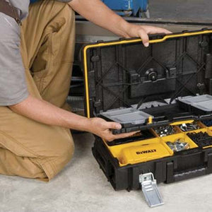 DeWALT DWST08201 ToughSystem Case Tool Equipment Box - Small