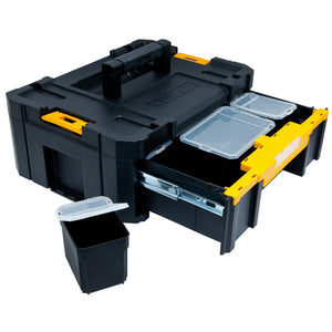 DeWALT TSTAK 3 Heavy-Duty Deep Drawer Unit Organizer - DWST17803