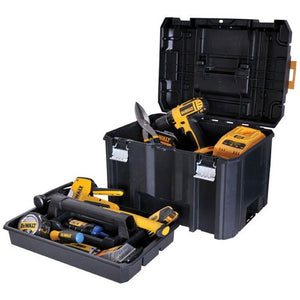 DeWALT DWST17806 TSTAK Tool Equipment Storage Deep Organizer Box W/ Flat Top