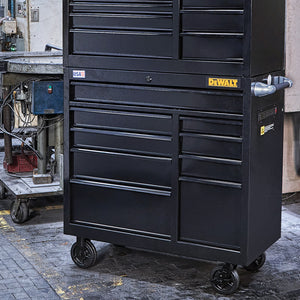 DeWALT DWST24191 41-Inch 900-Series 9-Drawer Storage Rolling Cabinet - Black