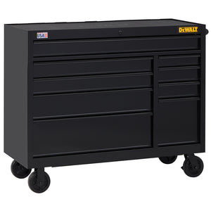DeWALT DWST25294 52-Inch 900-Series 9-Drawer Rolling Storage Cabinet - Black