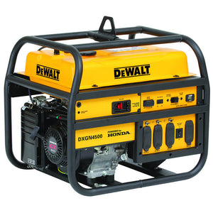 DeWALT DXGN4500 4,500-Watt 120/240-Volt Recoil Start Commercial Generator